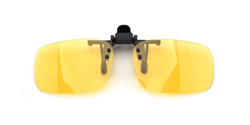 Rectangle clip-on-Yellow-other