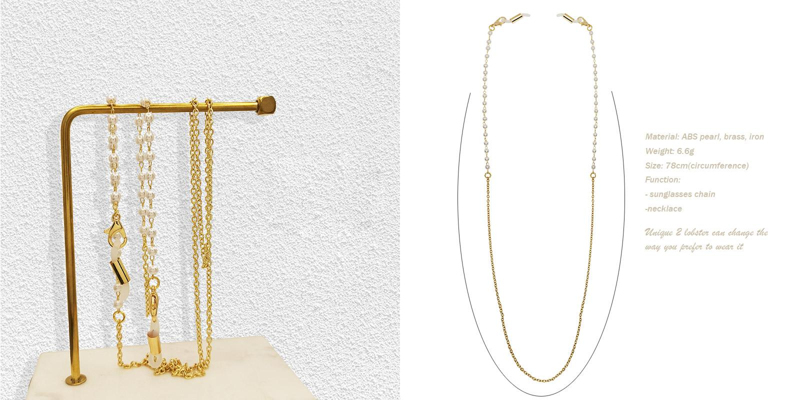 Adorned Glasses Chain-Gold--ACcombination-other-detail