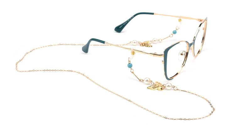 Remi Glasses Chain 10067-Gold-other