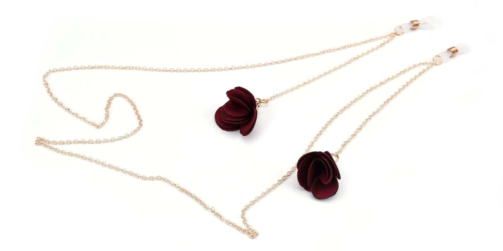 Rose Glasses Chain-Gold--ACcombination-other-detail