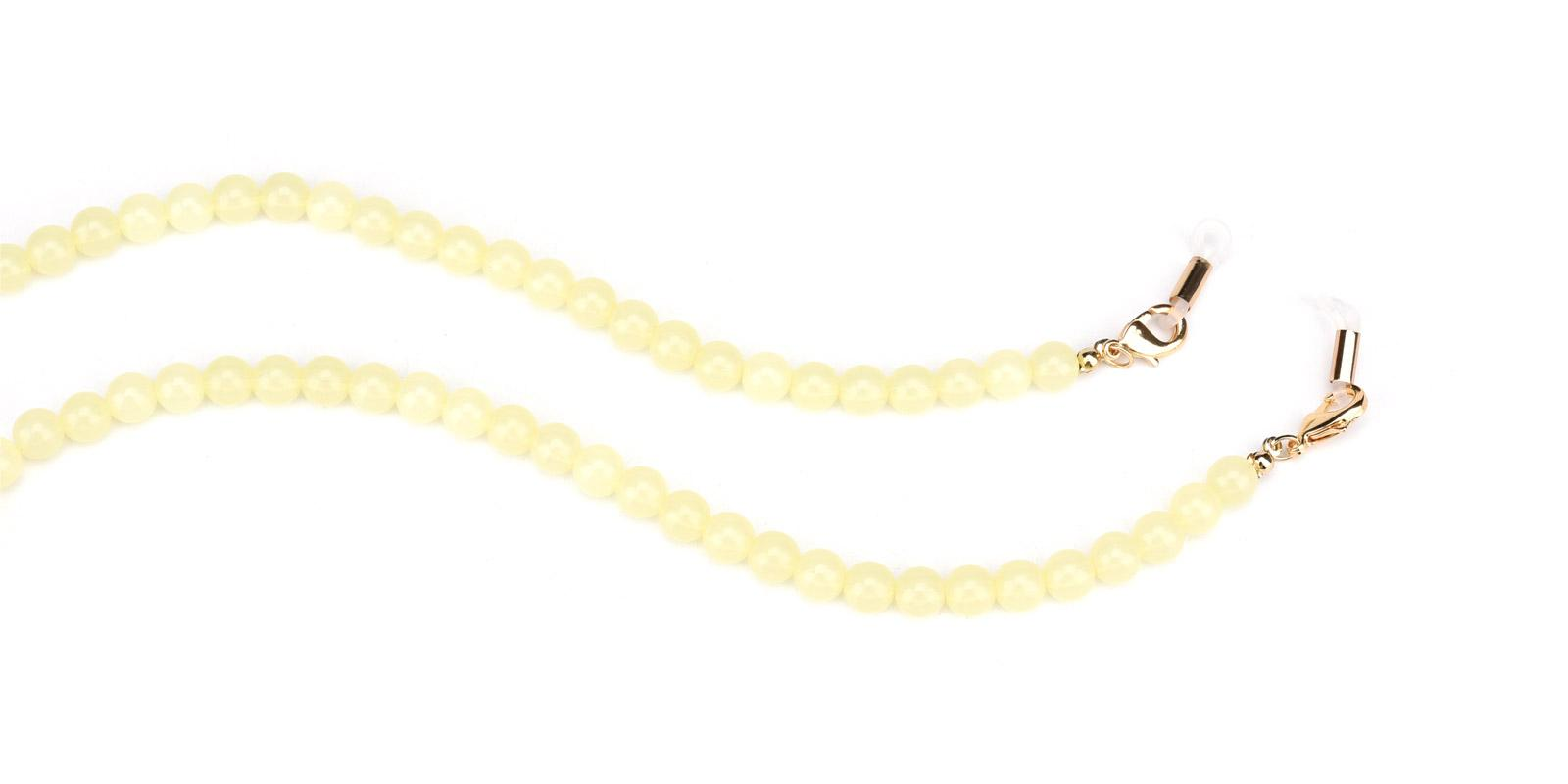 Joy Glasses Chain-Yellow--Plastic-other-detail