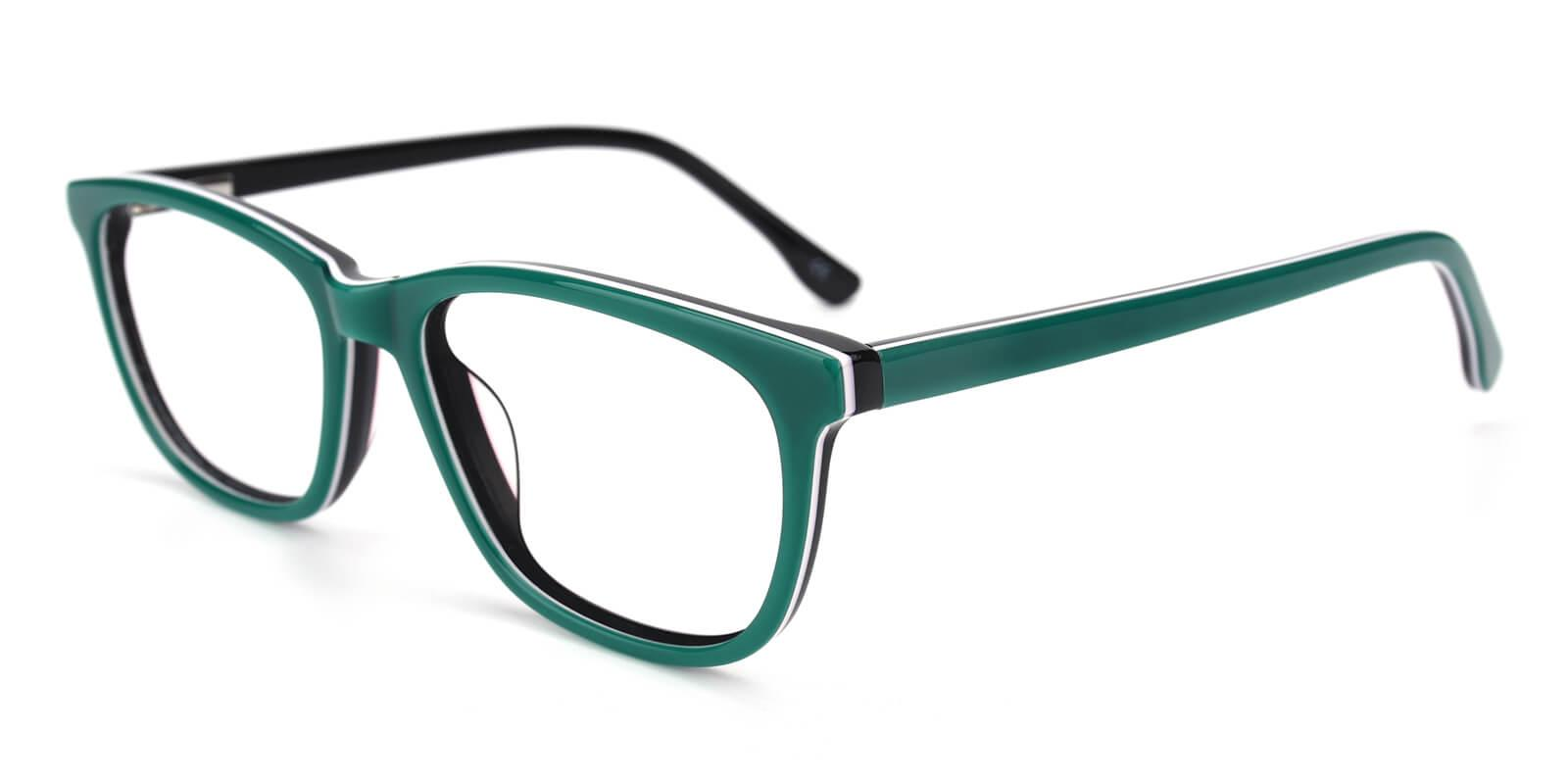 Emblem-Green-Square / Cat-Acetate-Eyeglasses-additional1