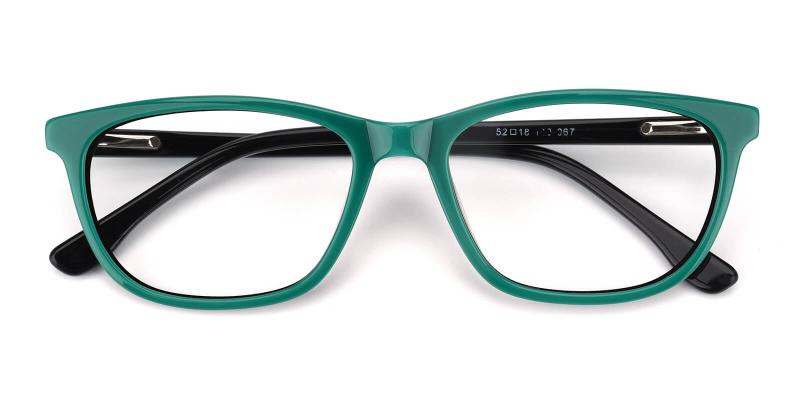 Emblem-Green-Eyeglasses