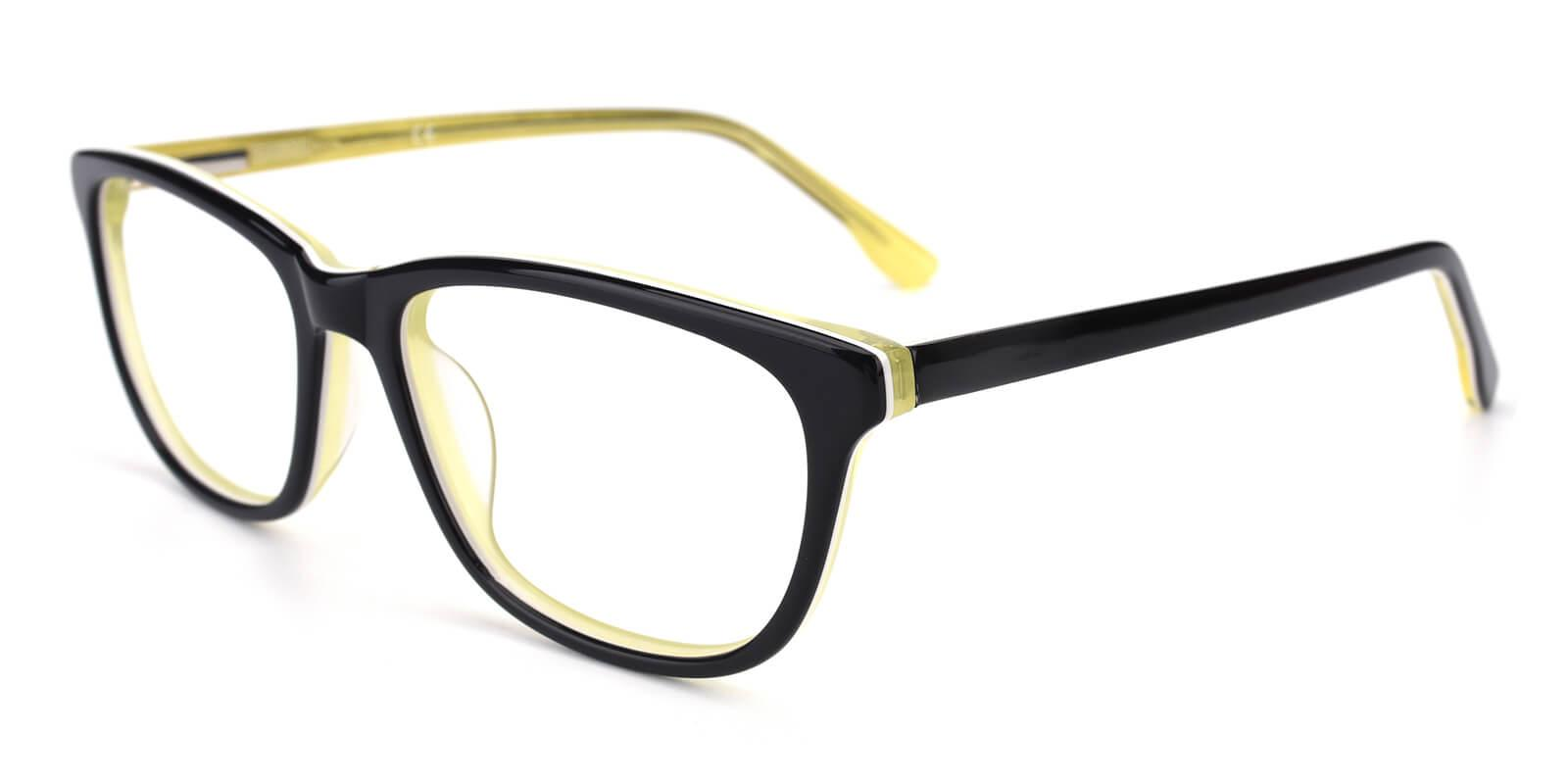 Emblem-Yellow-Square / Cat-Acetate-Eyeglasses-additional1