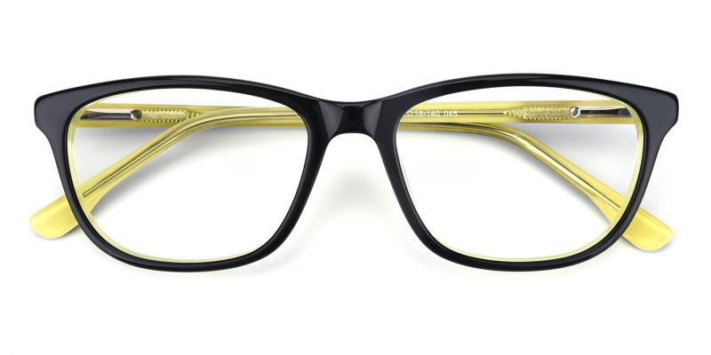 Emblem-Yellow-Eyeglasses