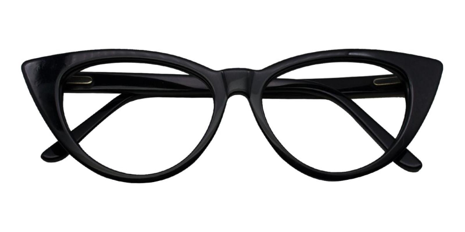 Charm-Black-Cat-Acetate-Eyeglasses-detail