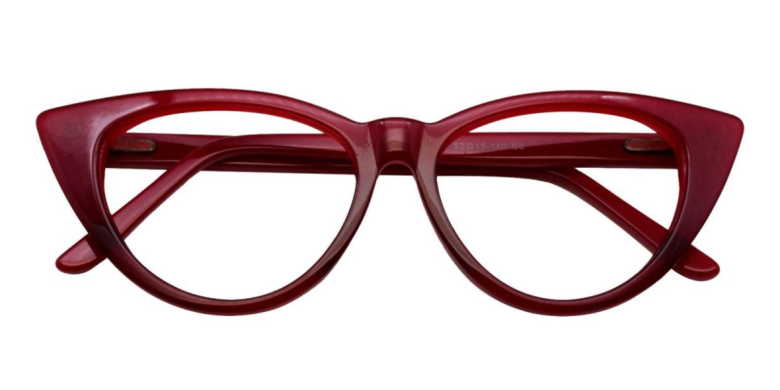 Charm-Red-Cat-Acetate-Eyeglasses-detail