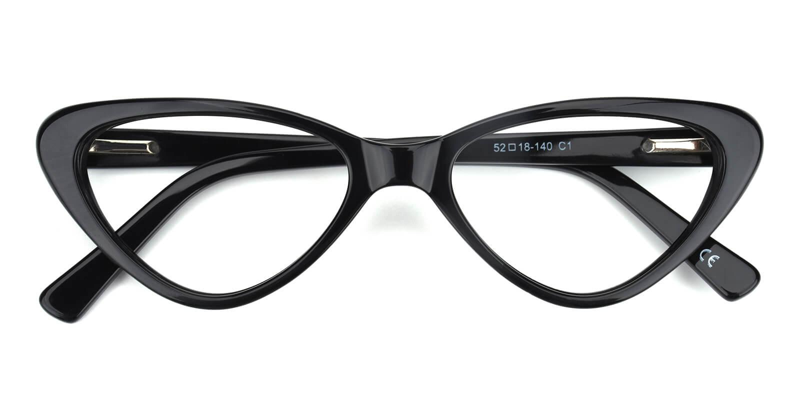 Catalin-Black-Cat-Acetate-Eyeglasses-detail