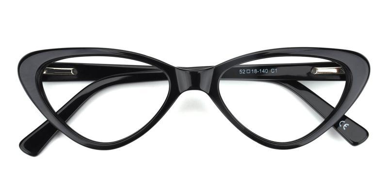Catalin-Black-Eyeglasses