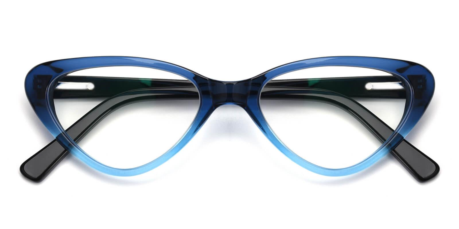 Catalin-Blue-Cat-Acetate-Eyeglasses-detail