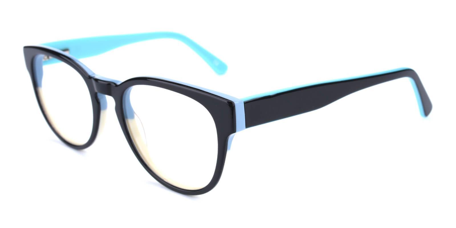 Bringmo-Blue-Round / Cat-Acetate-Eyeglasses-additional1