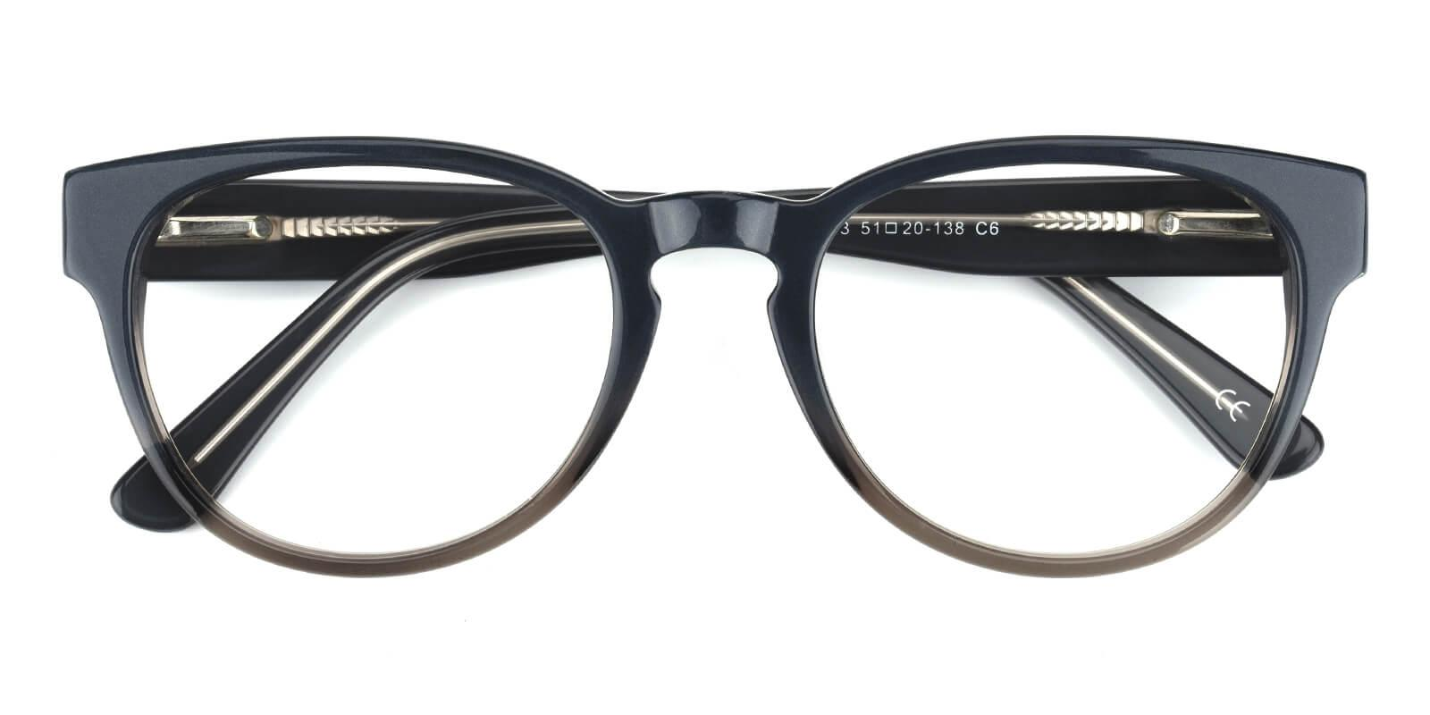 Bringmo-Gray-Round / Cat-Acetate-Eyeglasses-detail