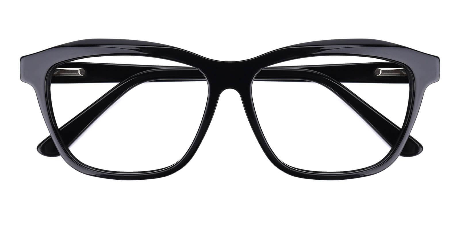 Gate-Black-Cat / Geometric-Acetate-Eyeglasses-detail