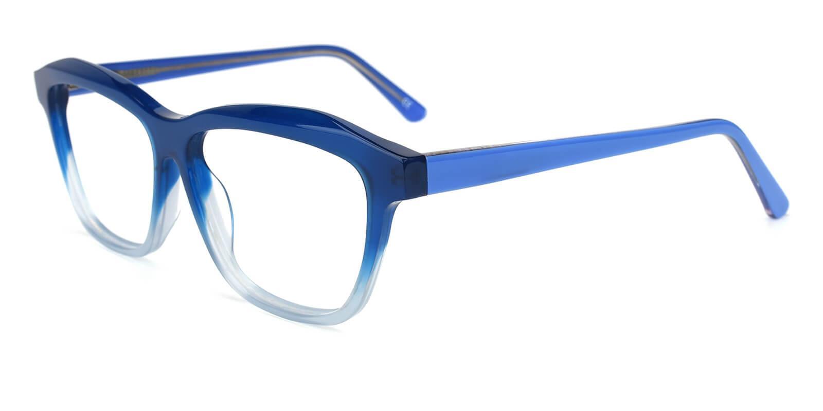 Gate-Blue-Square / Cat-Acetate-Eyeglasses-additional1