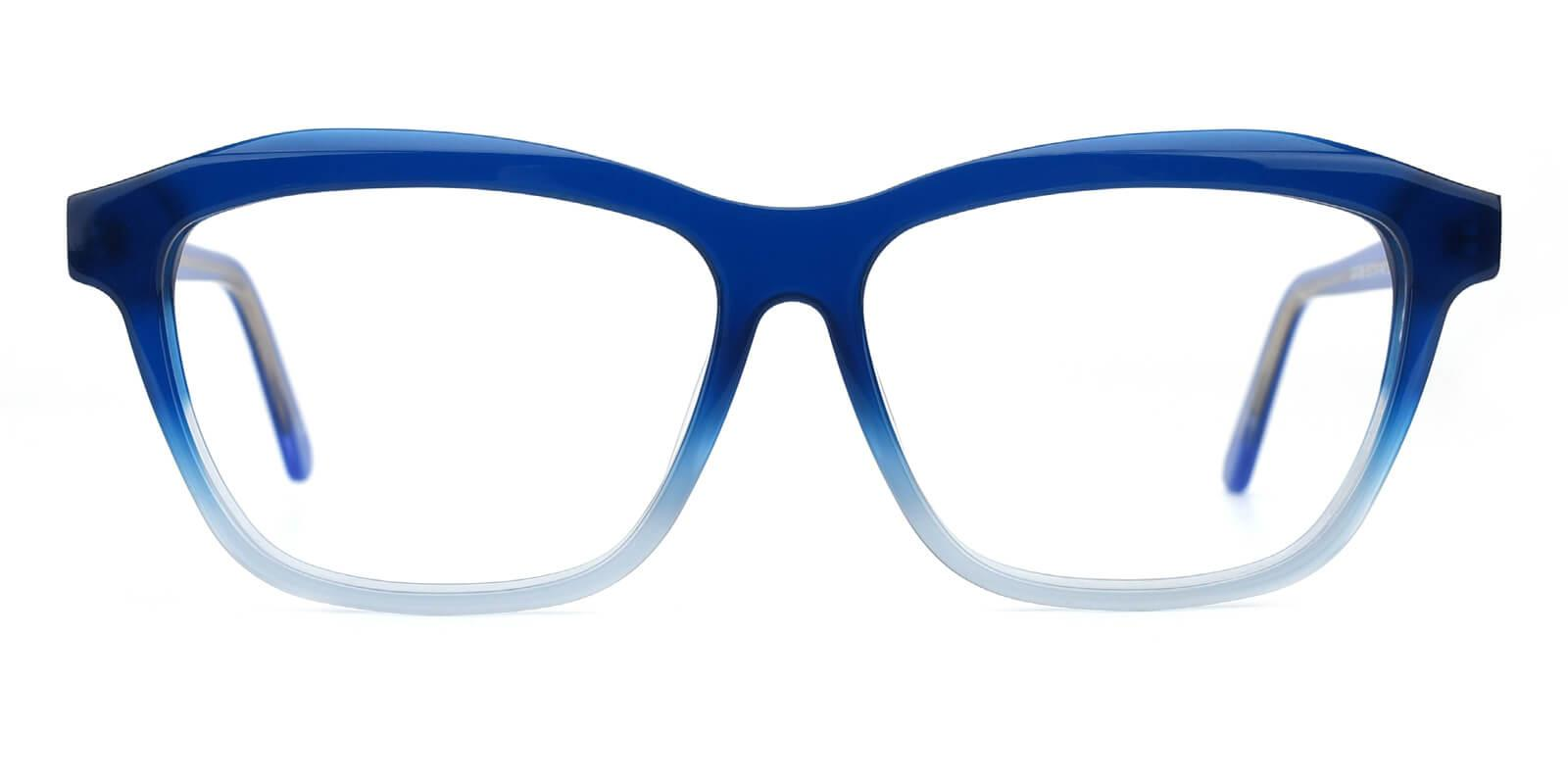 Gate-Blue-Square / Cat-Acetate-Eyeglasses-additional2