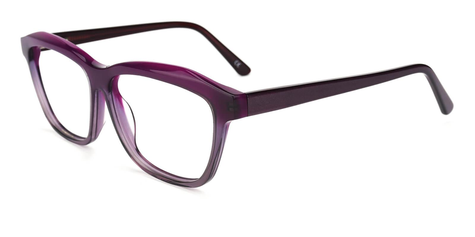 Gate-Purple-Square / Cat-Acetate-Eyeglasses-additional1