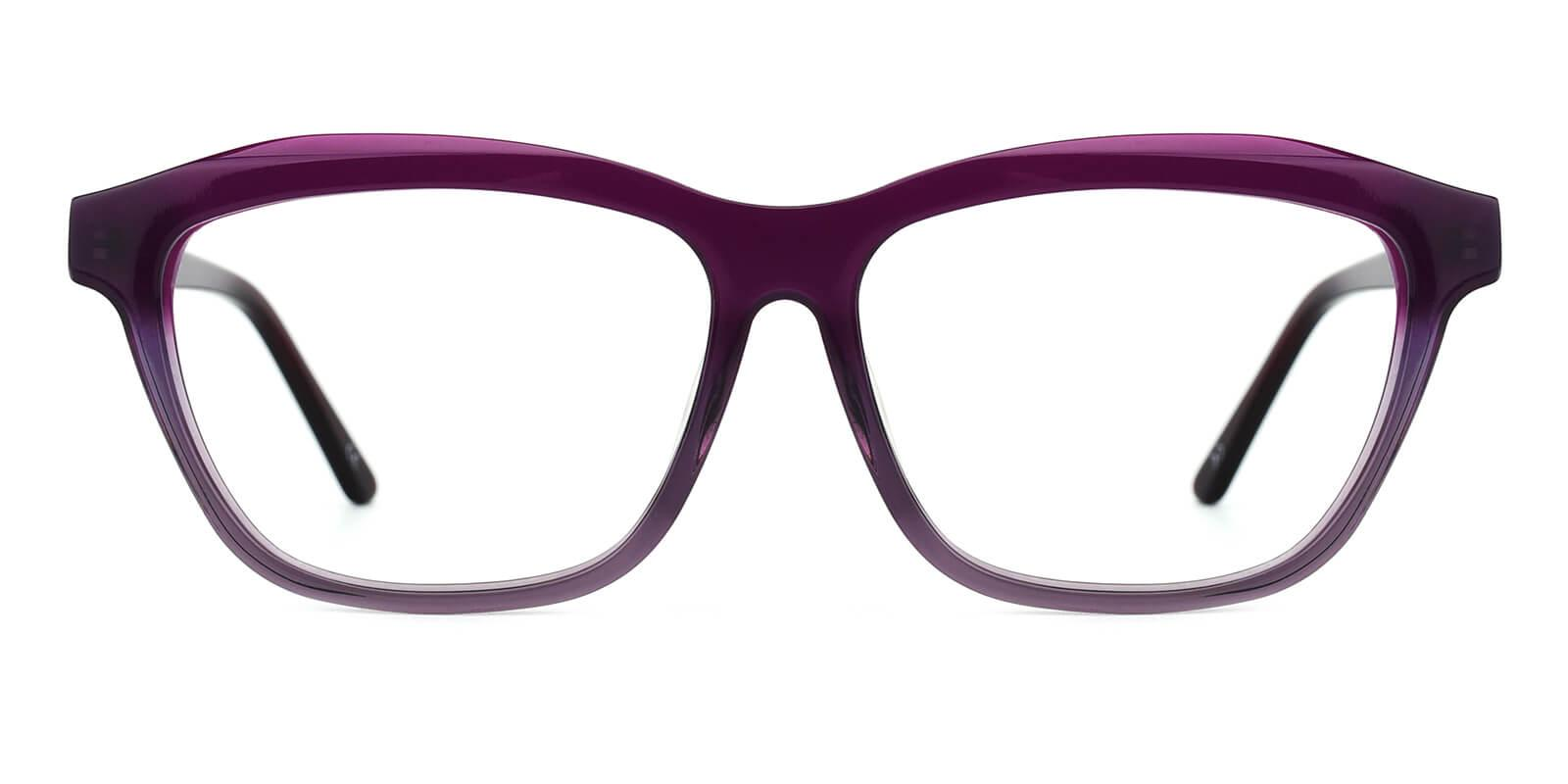 Gate-Purple-Square / Cat-Acetate-Eyeglasses-additional2