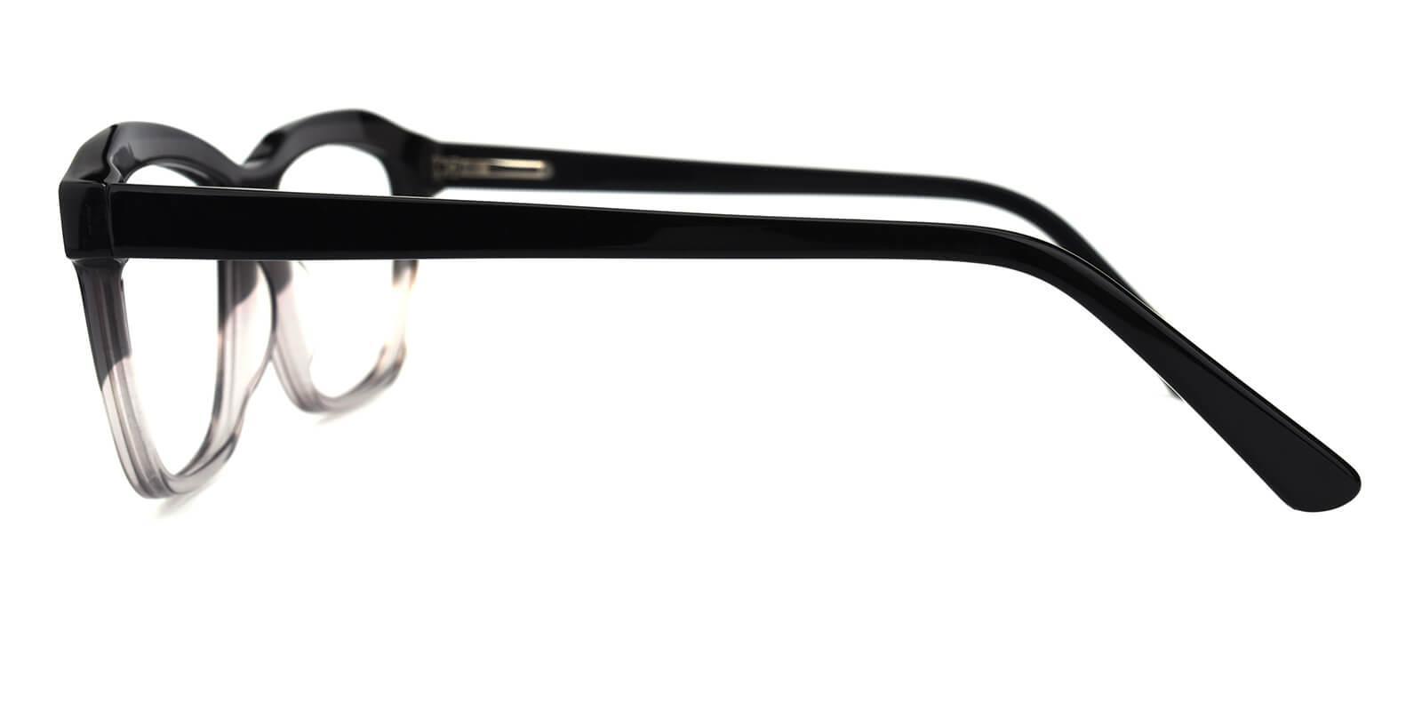 Gate-Translucent-Cat / Geometric-Acetate-Eyeglasses-detail