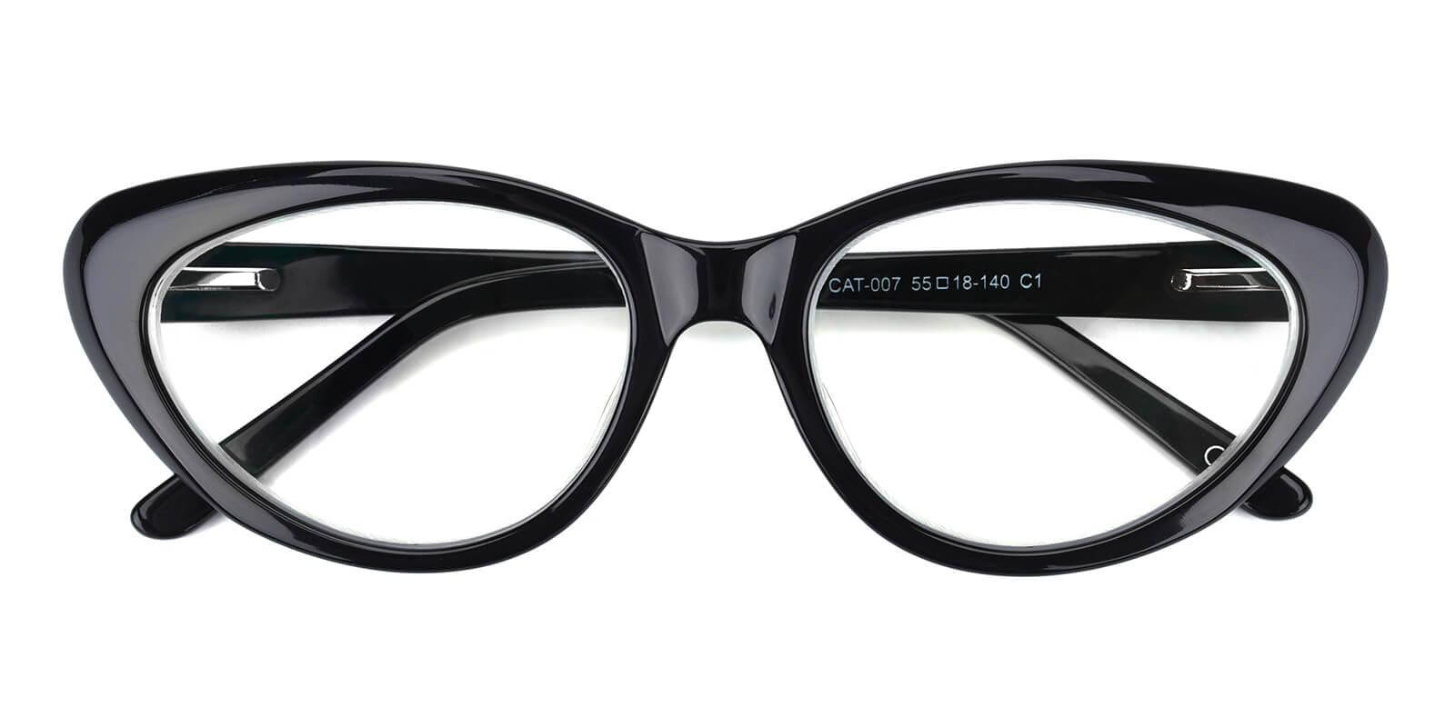 Jeanne-Black-Cat-Acetate-Eyeglasses-detail
