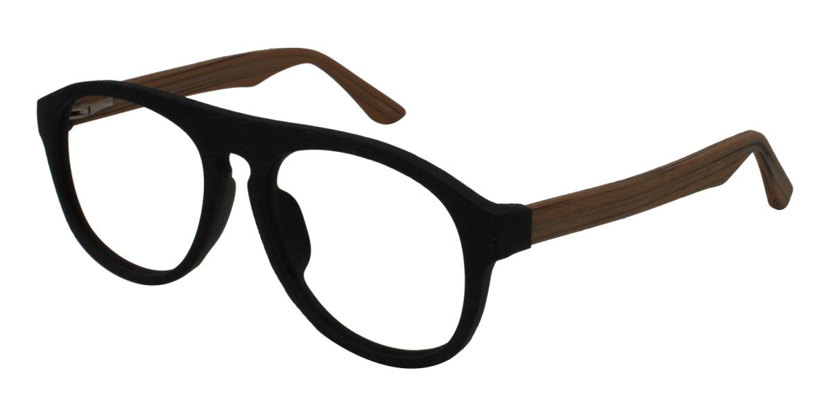 Square Glasses 180710002-Brown-Square-Acetate-Eyeglasses-additional1