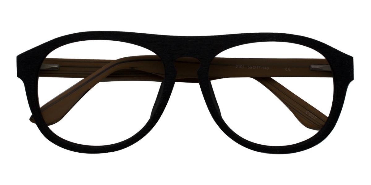 Square Glasses 180710002-Brown-Square-Acetate-Eyeglasses-additional2
