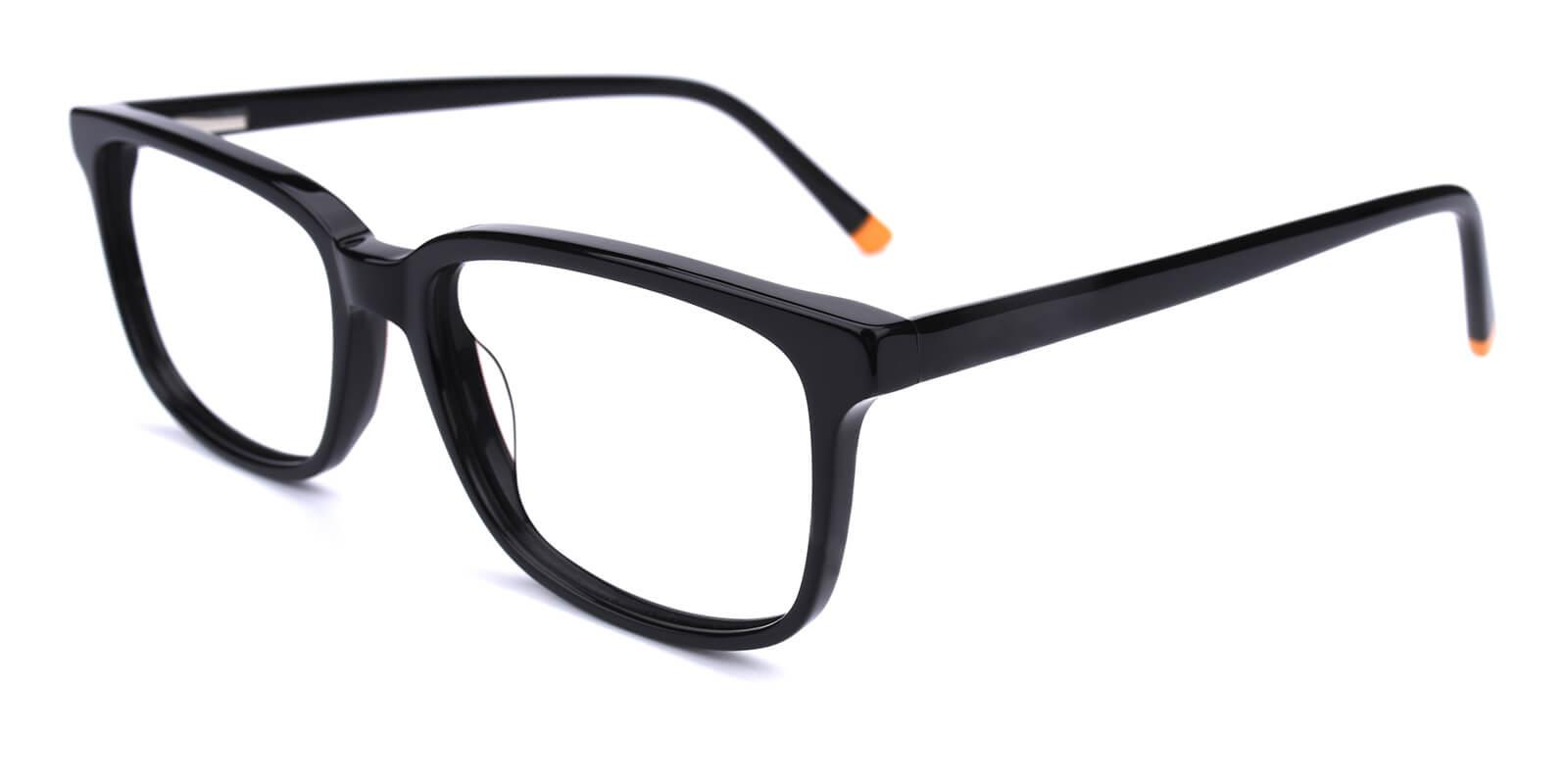 Connotation-Black-Rectangle-Acetate-Eyeglasses-additional1