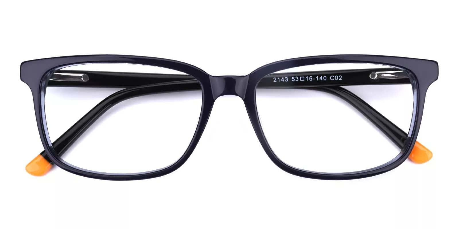 Connotation-Blue-Rectangle-Acetate-Eyeglasses-detail