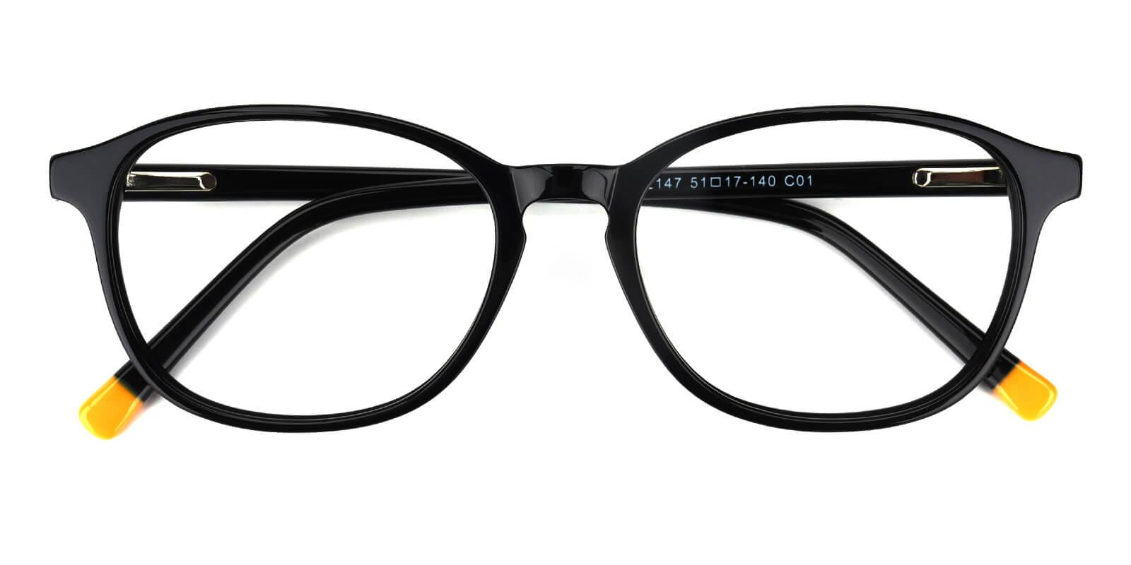 Lisbon-Black-Square-Acetate-Eyeglasses-detail