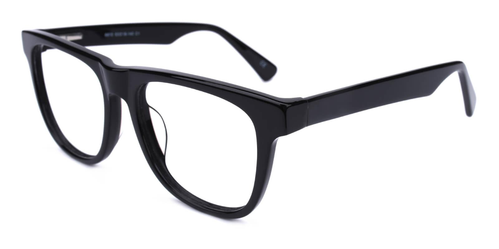 Masque-Black-Square-Acetate-Eyeglasses-detail