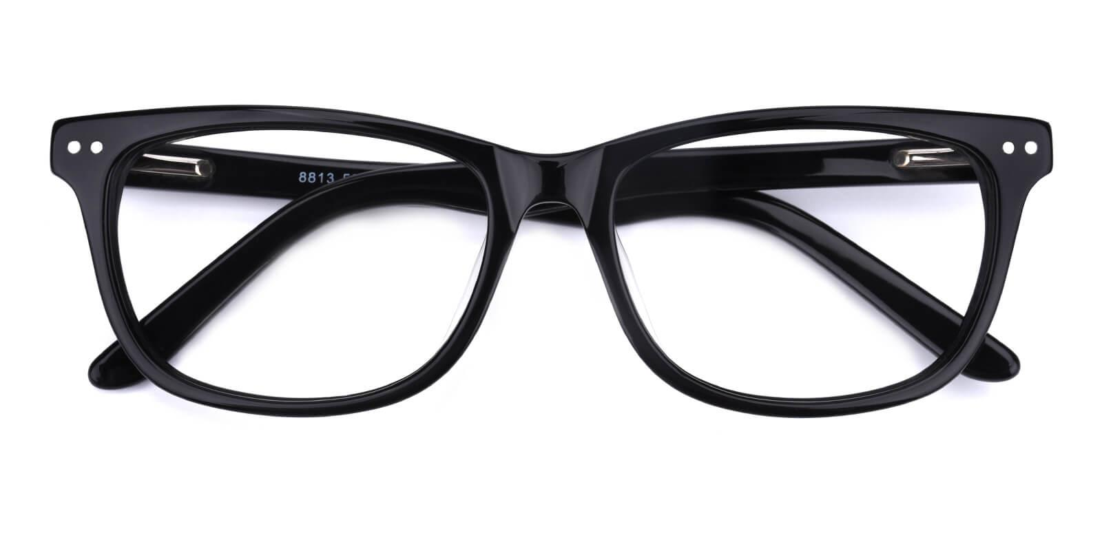 Prologue-Black-Rectangle-Acetate-Eyeglasses-detail