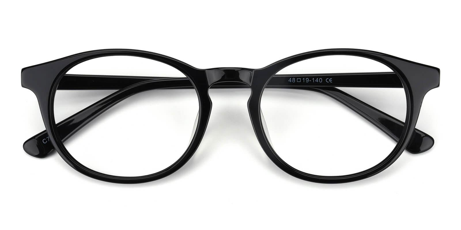 Concept-Black-Oval-Acetate-Eyeglasses-detail