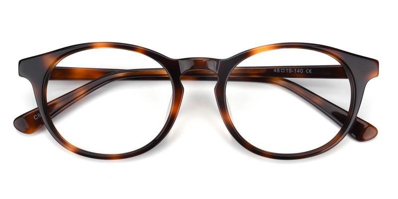 Concept-Tortoise-Eyeglasses / UniversalBridgeFit