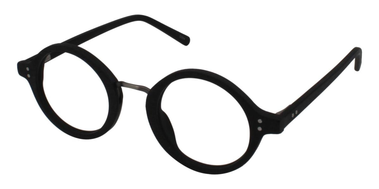 Woodiness-Black-Round-Acetate-Eyeglasses-additional1