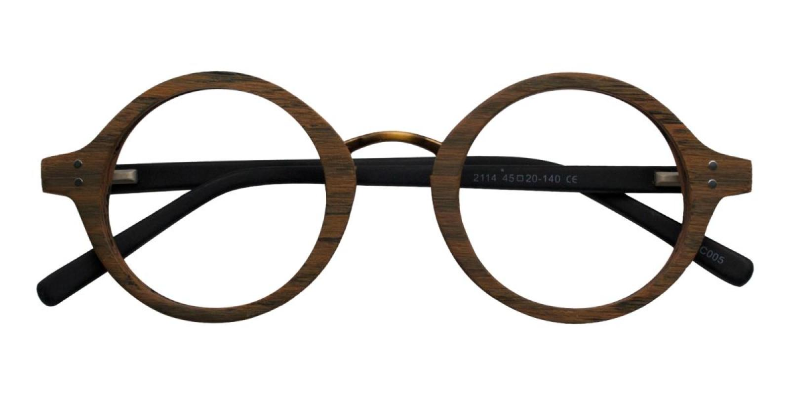Woodiness-Brown-Round-Acetate-Eyeglasses-detail