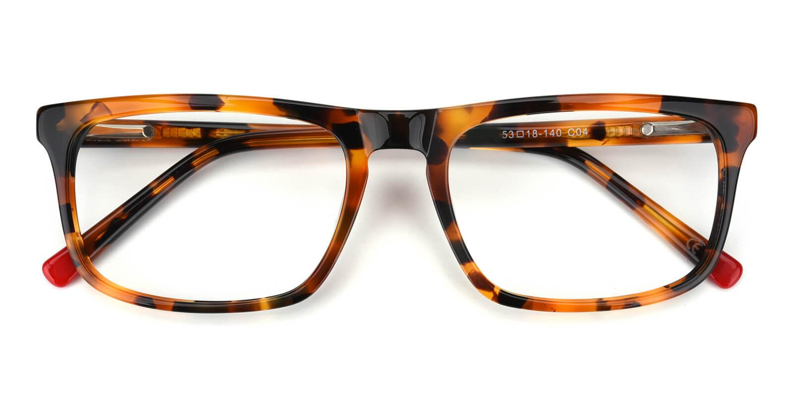 Etched-Tortoise-Rectangle-Acetate-Eyeglasses-detail