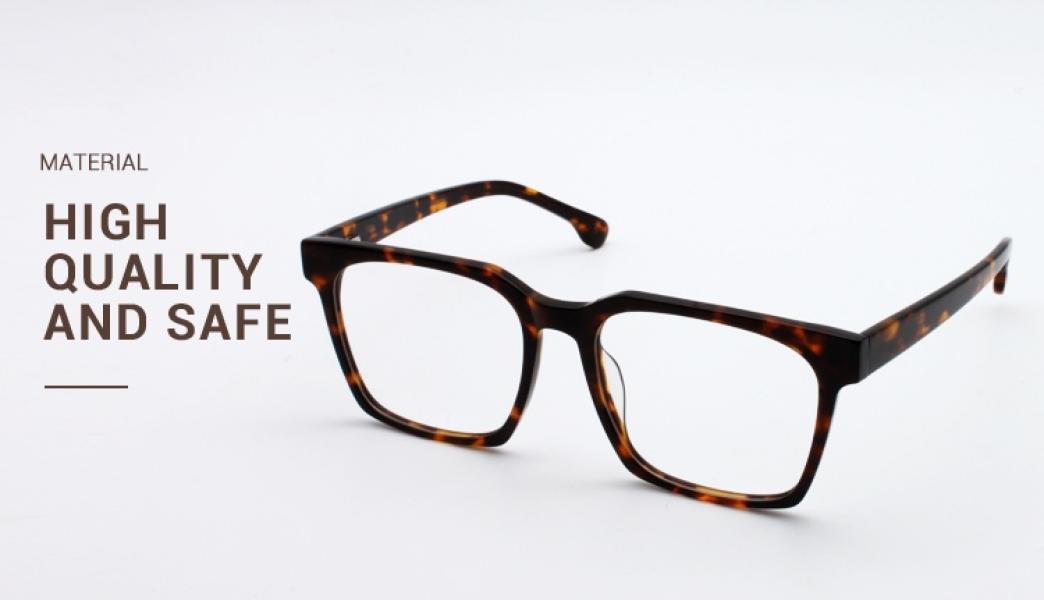 Trapezoid-Black-Acetate-Eyeglasses-detail2
