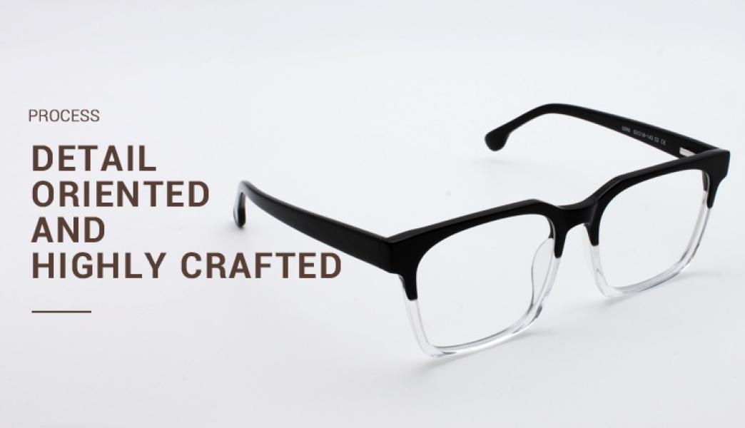 Trapezoid-Black-Acetate-Eyeglasses-detail4