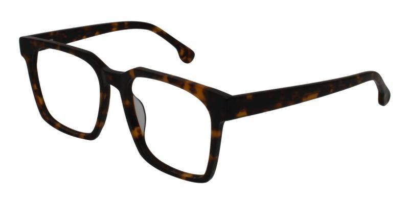 Trapezoid-Tortoise-Eyeglasses