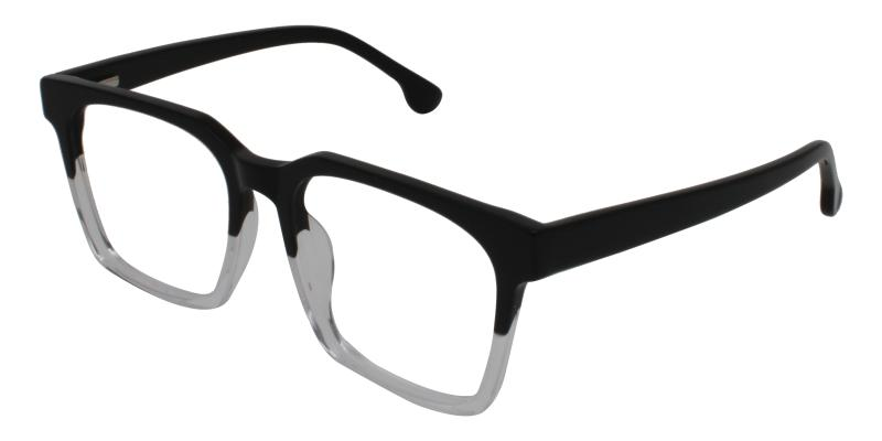 Trapezoid-Translucent-Eyeglasses
