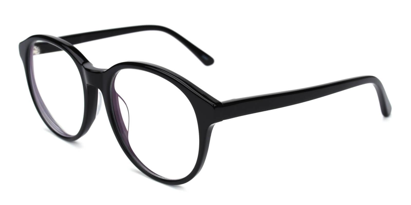 Bellona-Black-Round-Acetate-Eyeglasses-detail