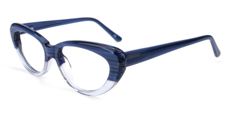 Retro-Blue-Eyeglasses
