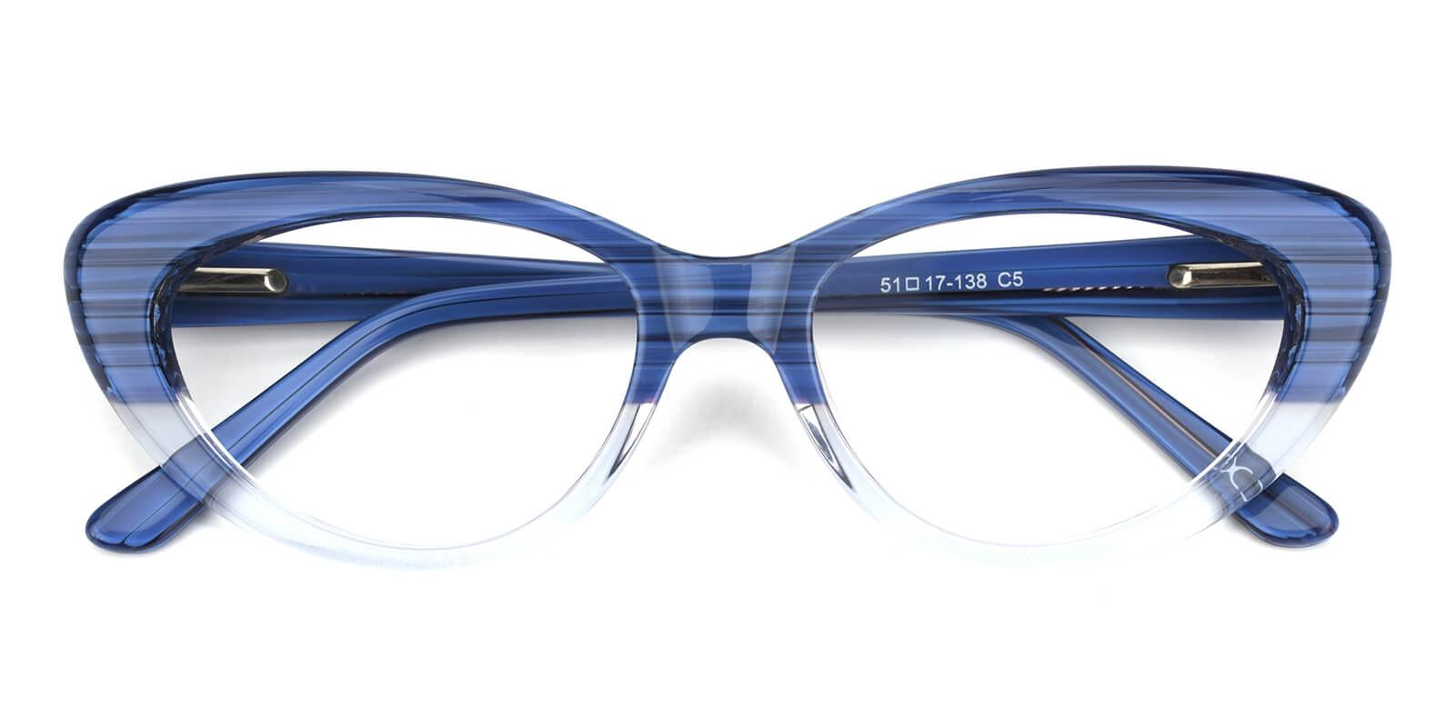Retro-Blue-Cat-Acetate-Eyeglasses-detail