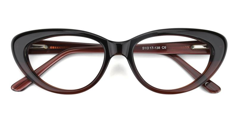 Retro-Brown-Eyeglasses
