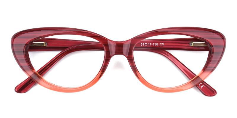 Retro-Red-Eyeglasses