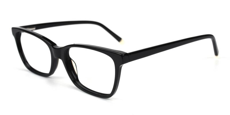 Waferay-Black-Eyeglasses