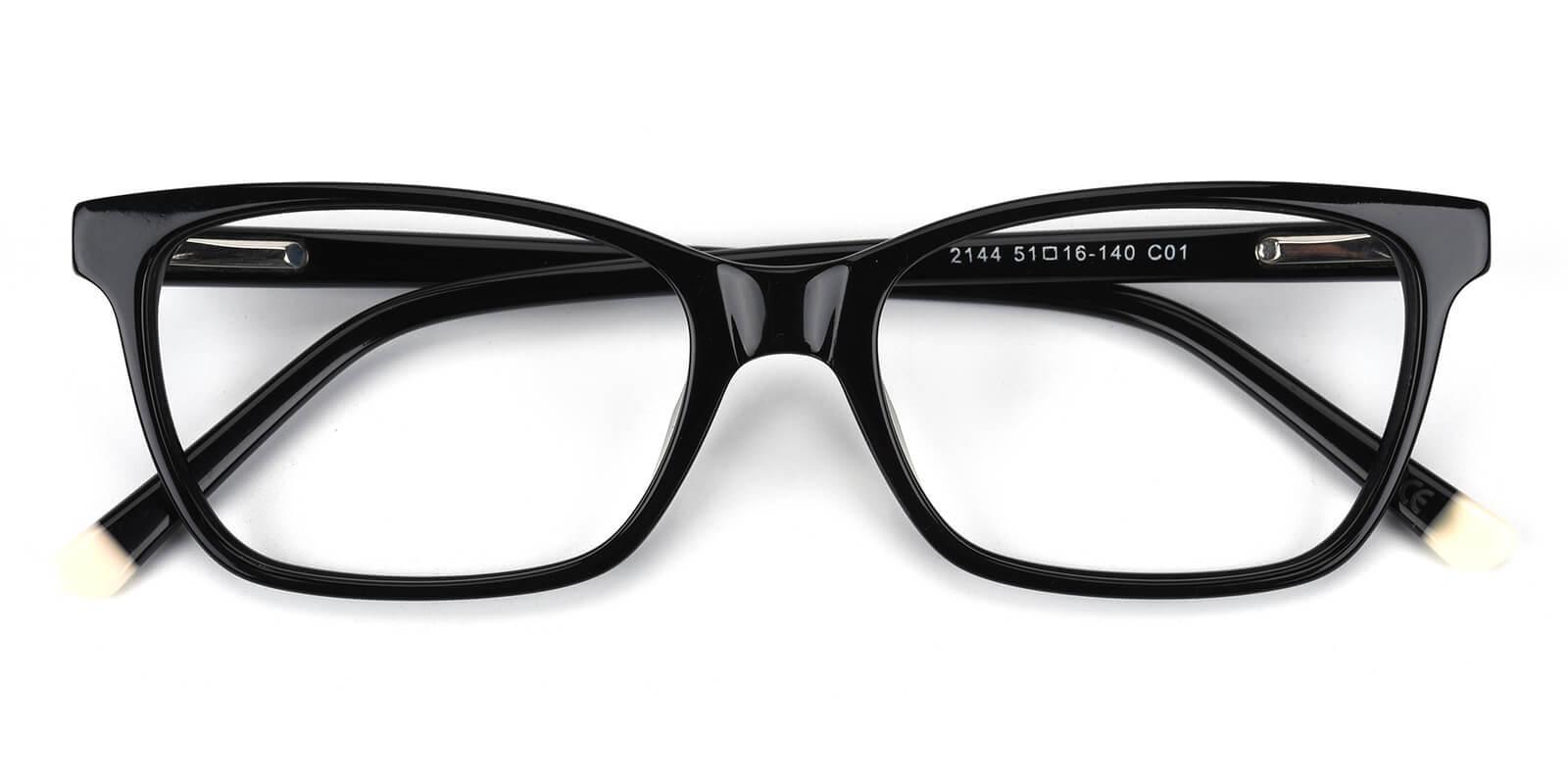 Waferay-Black-Cat-Acetate-Eyeglasses-detail