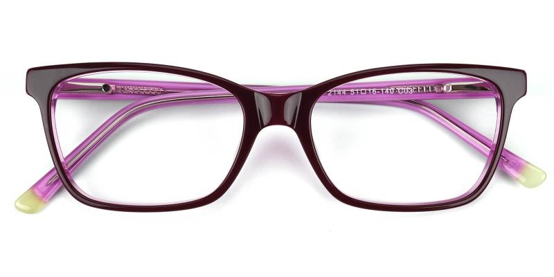 Waferay-Purple-Eyeglasses