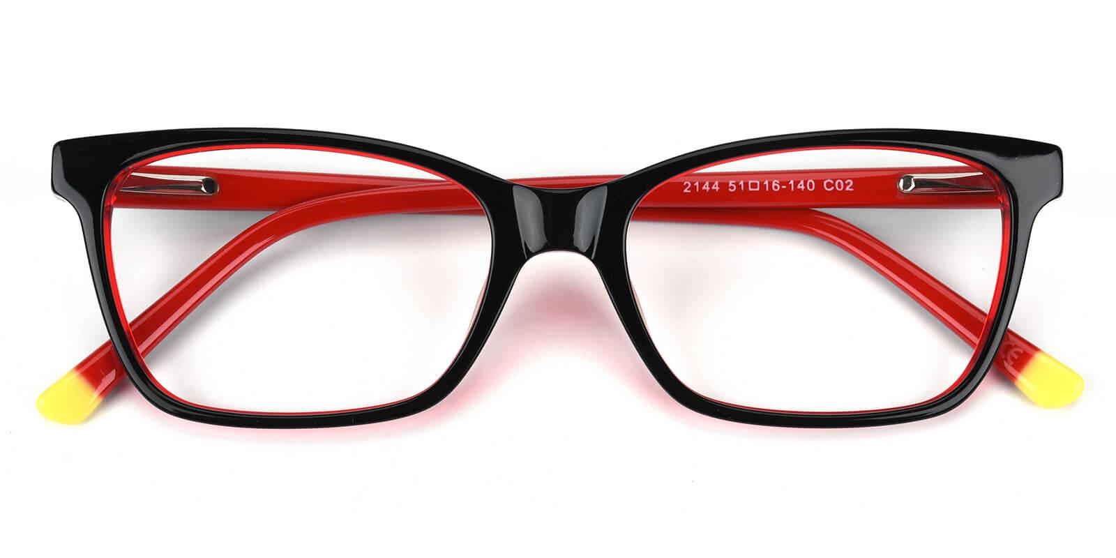 Waferay-Red-Cat-Acetate-Eyeglasses-detail