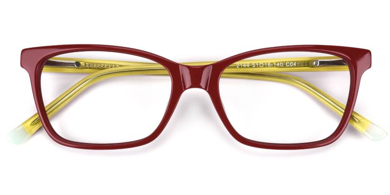 Waferay-Yellow-Eyeglasses