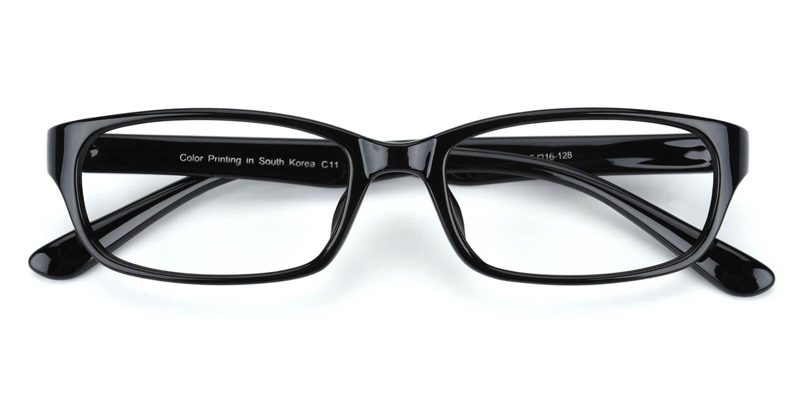 Bludieen-Black-Rectangle-TR-Eyeglasses-detail